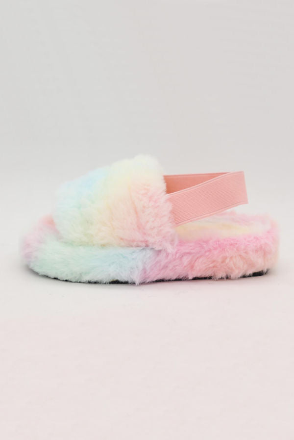 Kids Tie Dye Slippers