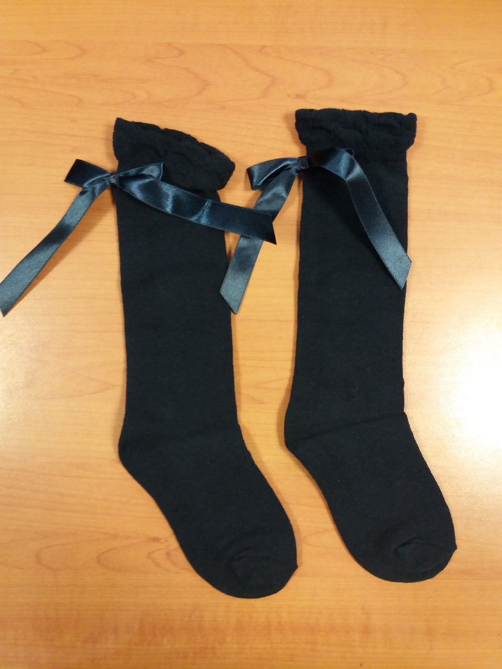 Ribbon socks Navy