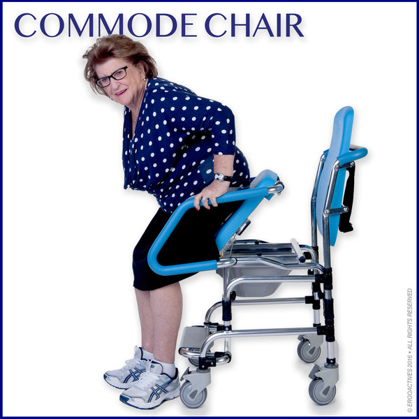 Commode Chair - ERGOACTIVES
