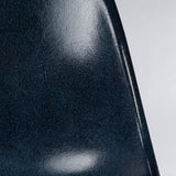 Closed up view of Navy Blue Herman Miller Original Eames DSW Side Shell Chair
