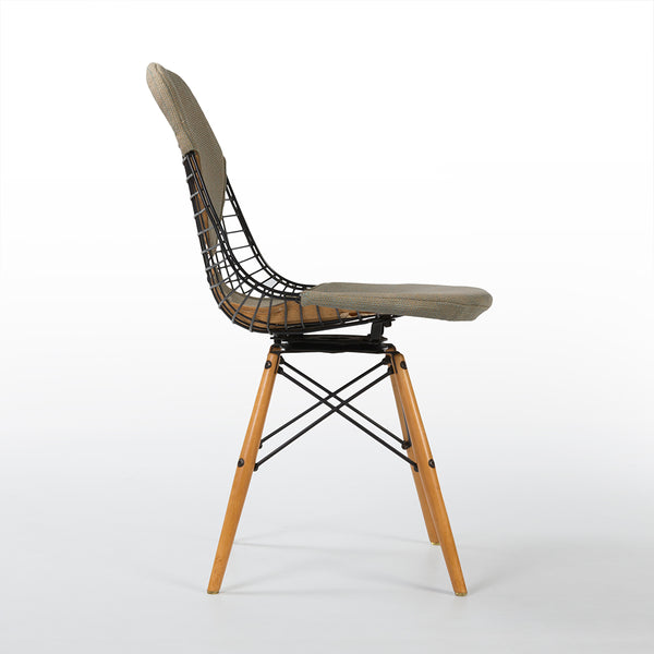 Right side view of Eames PKW-2 Swivel Dining Chair