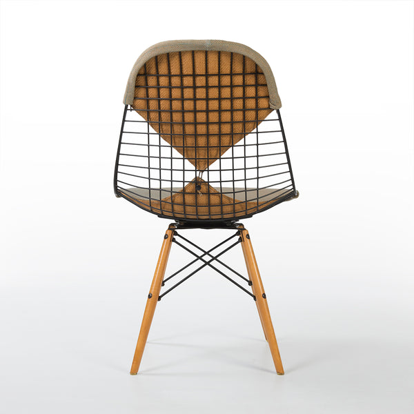 Rear view of Eames PKW-2 Swivel Dining Chair