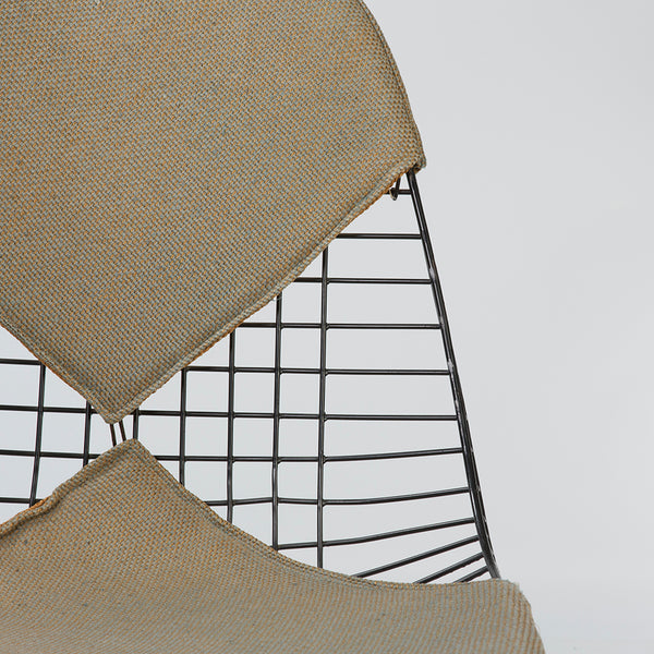 Close up front view of Eames PKW-2 Swivel Dining Chair
