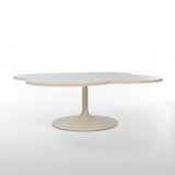 Front angled view of Kho Liang Le 825 Flower coffee table