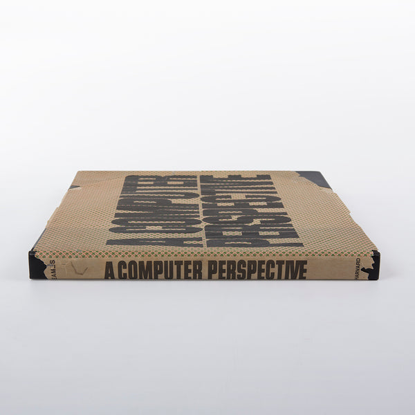 Original Vintage 1973 1st Edition Eames Book Collaboration - A Computer Perspective