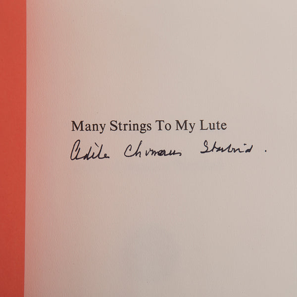 Original Vintage 1977 1st Edition Signed Publication With Charles & Ray Eames Artwork Cover