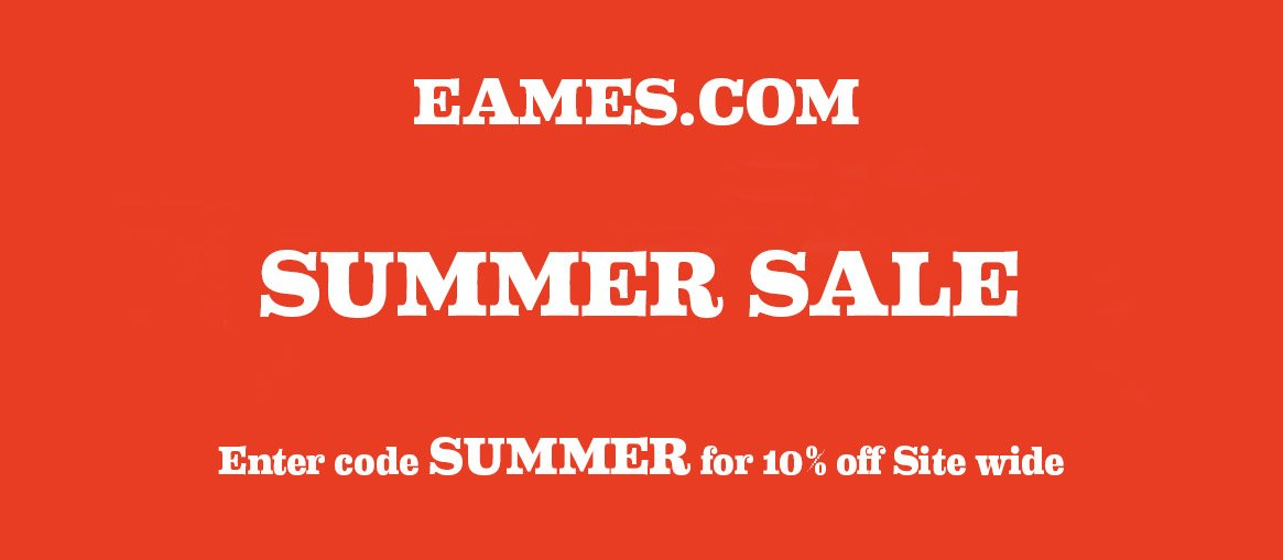 eames.com Summer Sale