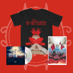 Mother Album + In Between Cover T-shirt + Comic Book