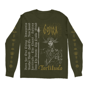 Fortitude Track List Long Sleeve T-shirt