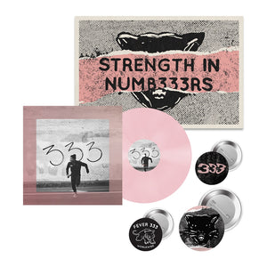 STRENGTH IN NUMB333RS (Pink Vinyl + Button + Poster Pack)