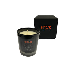 Biffy Countdown Candle