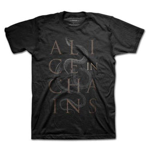 Alice In Chains Unisex Tee: Snakes