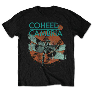 Coheed and Cambria Unisex Tee: Dragonfly (Retail Pack)