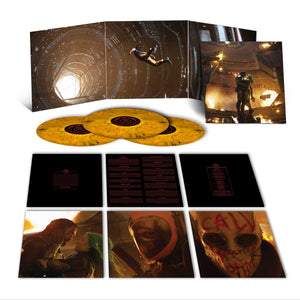 THE UNHEAVENLY CREATURES TIGER'S EYE 3LP