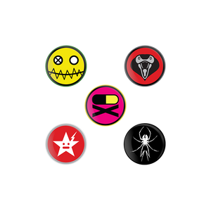 Danger Days Pin Set
