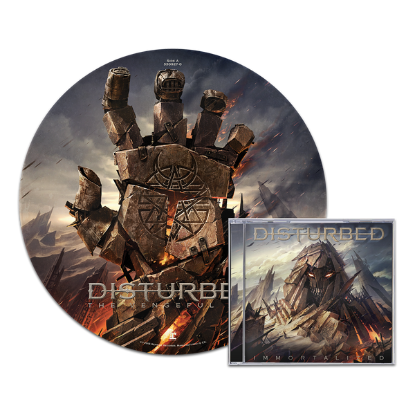 Immortalized Cd Picture Disc Bundle Maniacs Store