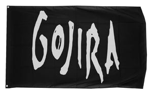 Gojira Logo Wall Flag