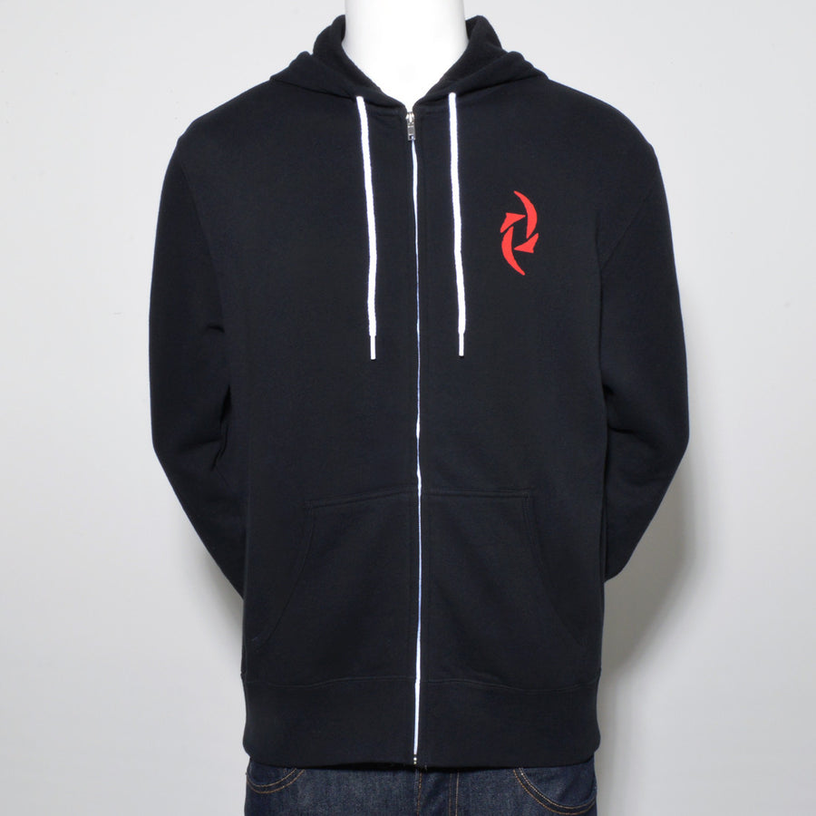 Lady Slim Fit Zip Hoodie Black (Tour Exclusive)