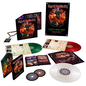 Nights of the Dead [Colour 3LP + Deluxe CD + Poster + Lanyard]