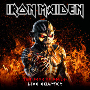 "Iron Maiden – The Book Of Souls : Live Chapter // 3LP 12"" Vinyl Album"