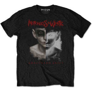 Motionless In White Unisex Tee: Split Screen