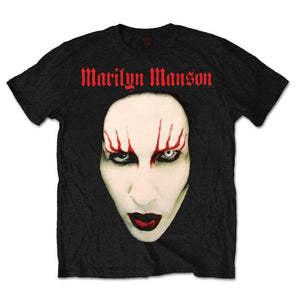 Marilyn Manson Unisex Tee: Red Lips