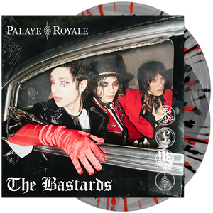 The Bastards (Ultra Clear w/ Red & Black Splatter)