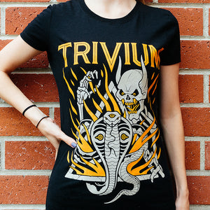 Cobra Skull - Women's T-Shirt