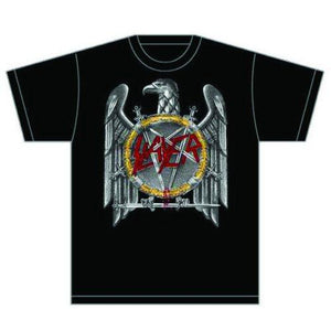 Slayer Unisex Tee: Silver Eagle