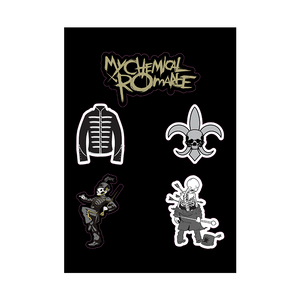 The Black Parade Sticker Sheet