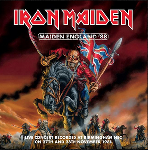 Maiden England 88 (2LP)