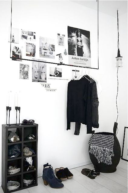 Small Space Solution: 8 Easy Garment Racks Solutions