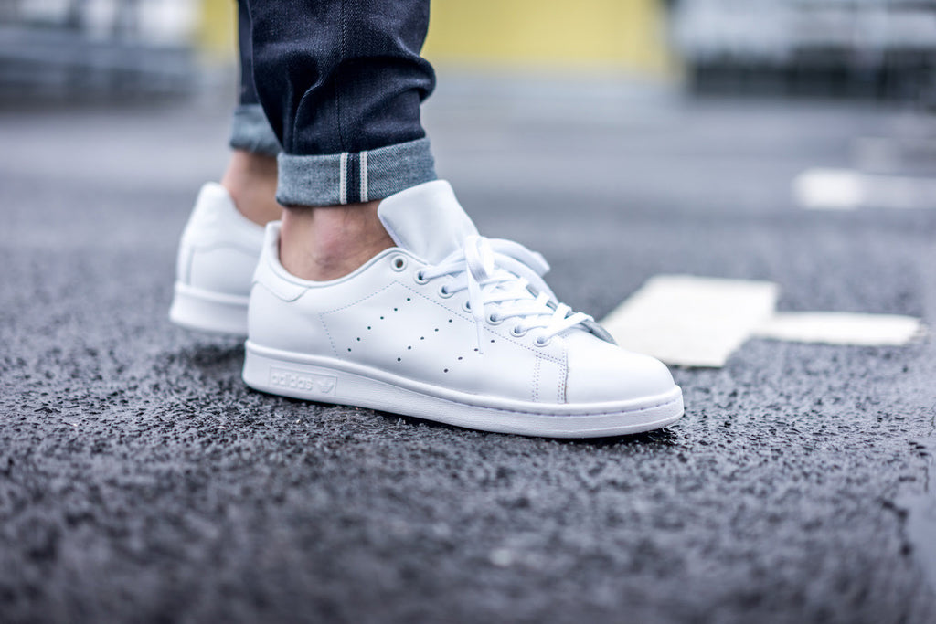 ADIDAS Drops All-White Classic Stan Smiths