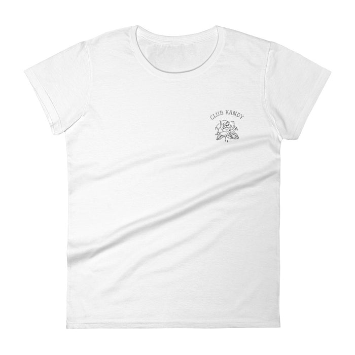 CLUB KANDY T-Shirt, White - Kitsch Kandy