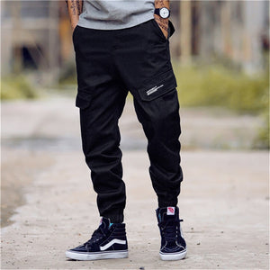 X101 Cargo Pants, Black - Kitsch Kandy - Tomboy Styles