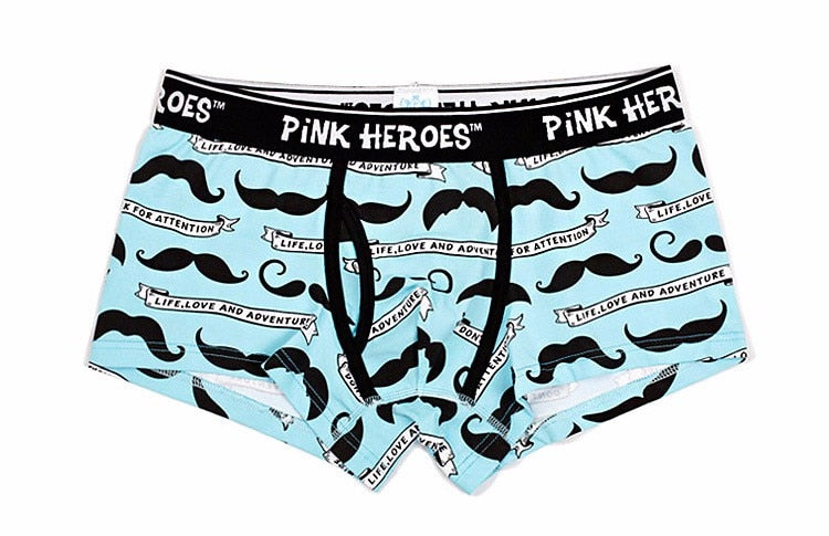 TACHE Pink Hero Briefs, Blue | Kitsch Kandy Clothing - Tomboy Styles