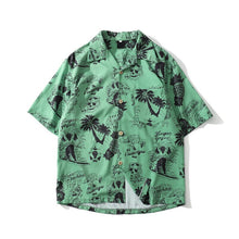 Hawaiian Printed Shirt | Kitsch Kandy Clothing - Tomboy Styles