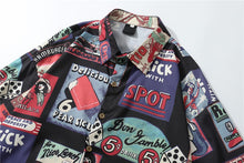 Vintage Printed Shirt | Kitsch Kandy Clothing - Tomboy Styles