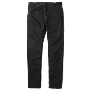 MARY Cotton Chinos, Black | Kitsch Kandy Clothing - Tomboy Styles