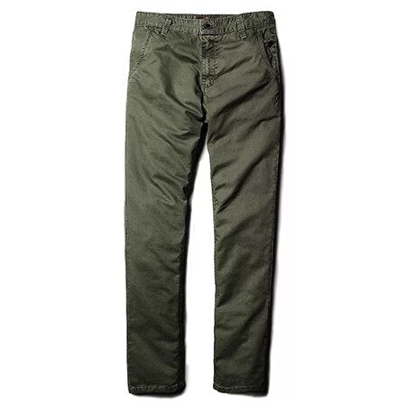 MARY Cotton Chinos, Green | Kitsch Kandy Clothing - Tomboy Styles
