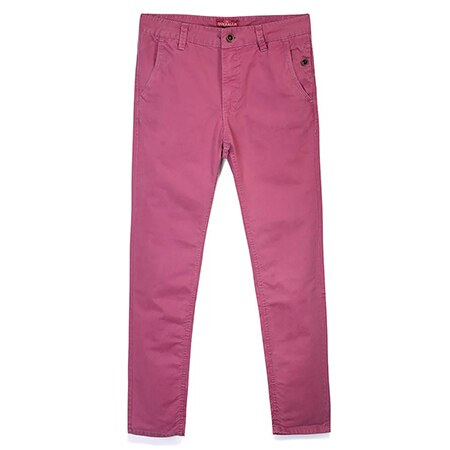 MARY Cotton Chinos, Pink | Kitsch Kandy Clothing - Tomboy Styles