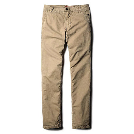 MARY Cotton Chinos, Sand | Kitsch Kandy Clothing - Tomboy Styles