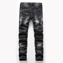 ZAN Slim Fit Biker Jeans, Black | Kitsch Kandy Clothing - Tomboy Styles
