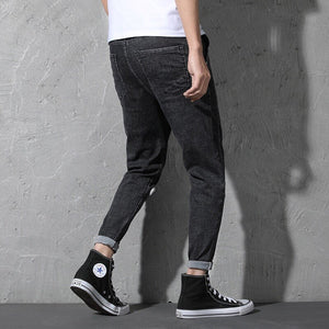 HOWARD Tapered Jeans, Black | Kitsch Kandy Clothing - Tomboy Styles