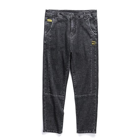 HOWARD Tapered Jeans, Black - Kitsch Kandy Clothing