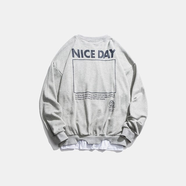 NICE DAY Sweatshirt - Kitsch Kandy Clothing