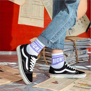 RICH Socks | Kitsch Kandy Clothing - Tomboy Styles