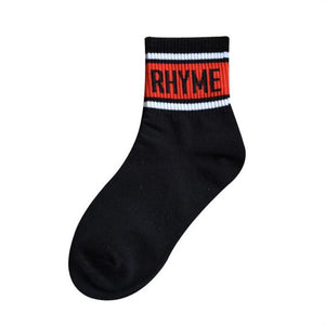 RHYME Socks | Kitsch Kandy Clothing - Tomboy Styles