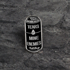 Tears of Mine Pin | Kitsch Kandy Clothing - Tomboy Styles