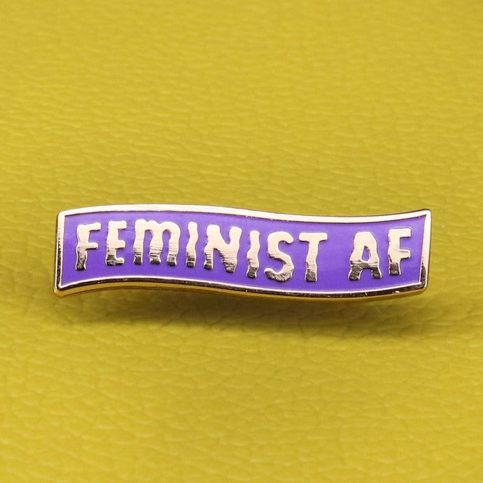 Feminist AF Pin | Kitsch Kandy Clothing - Tomboy Styles